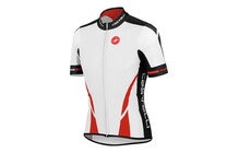 Castelli Climber&#039;s Jersey Heren rood/wit